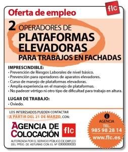 2 OPERADORES DE PLATAFORMAS ELEVADORAS